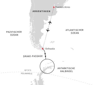 Abenteuer Antarktis – Höhepunkte des eisigen Kontinents