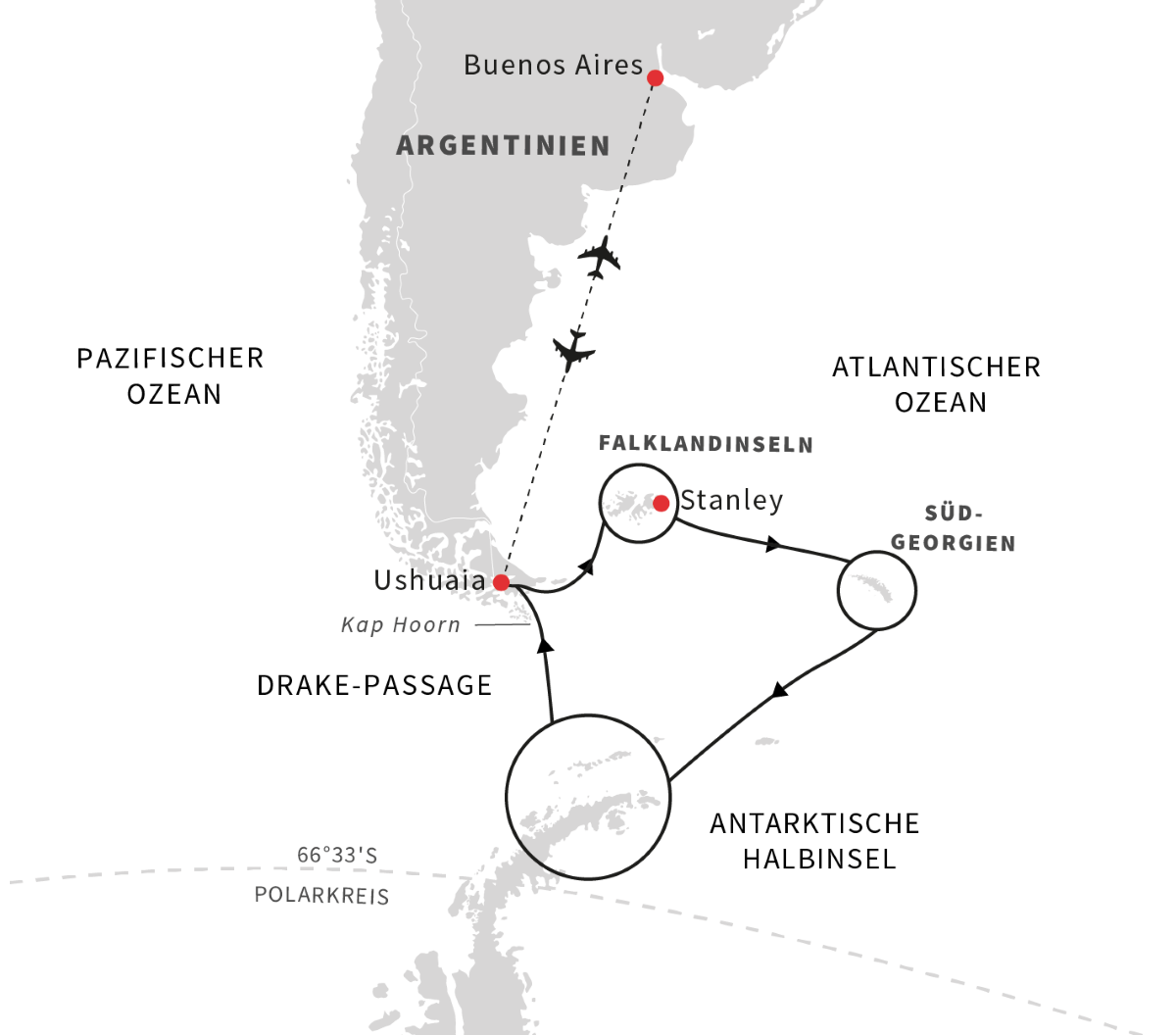 Antarktis, Falklandinseln und Südgeorgien – Die ultimative Expeditionsreise (2020)
