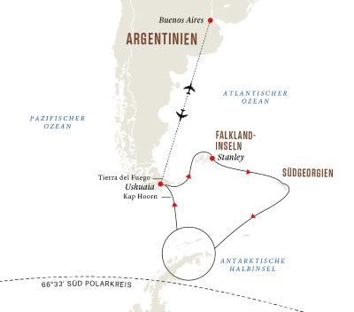 Antarktis, Falklandinseln und Südgeorgien – Die ultimative Expeditionsreise
