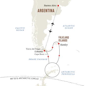 Expedition Antarktis und Falklandinseln
