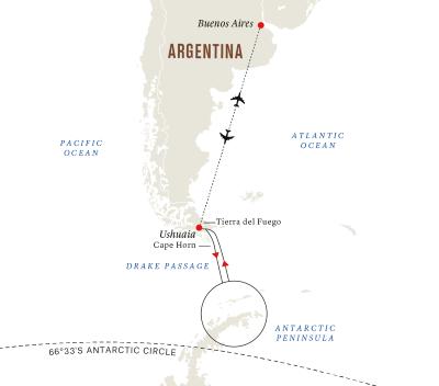 Höhepunkte der Antarktis