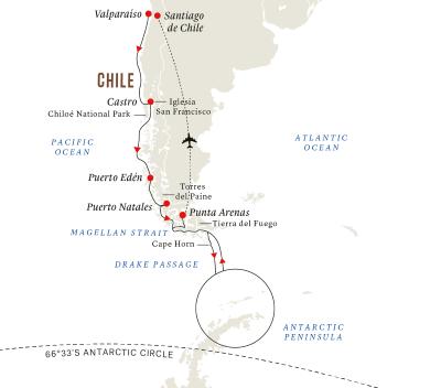 Große Expedition Antarktis und Patagonien (Kurs Süd)