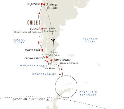 Expeditionsreise Antarktis und Patagonien (Kurs Nord)