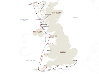 Britische Inseln – Malerische Häfen, abgelegene Inseln und eine faszinierende Tierwelt
