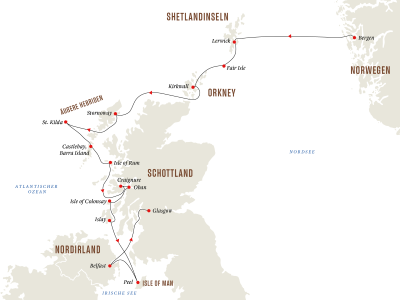 Schottische Inseln - Zauber der Geschichte