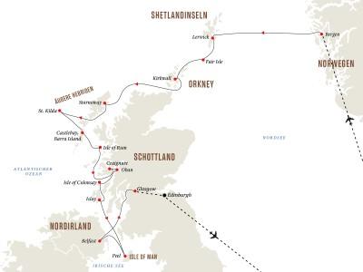 Gruppenreise: Schottische Inseln - Zauber der Geschichte
