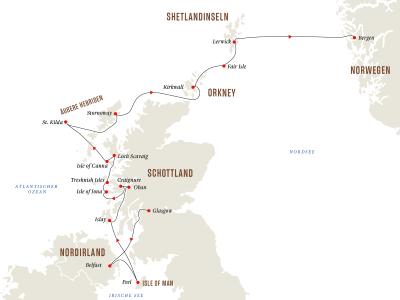 Schottische Inseln – Whisky und Wildtiere – von den Hebriden zu den Shetlandinseln