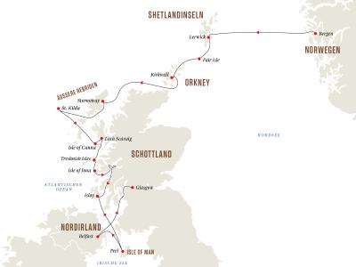Die schottischen Inseln – Von den Hebriden bis zu den Shetlandinseln (Kurs Süd)