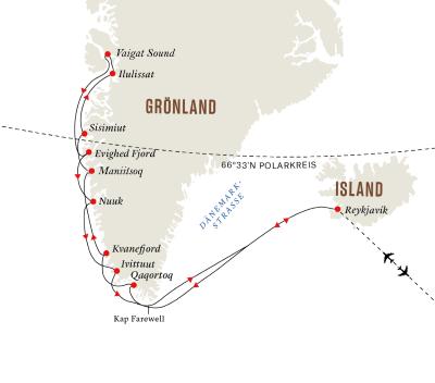 Gruppenreise: Expedition Diskobucht – Im Herzen Grönlands (Route A)