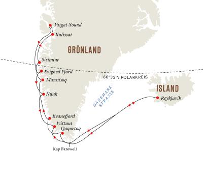 Expedition Diskobucht – Im Herzen Grönlands (Route A)