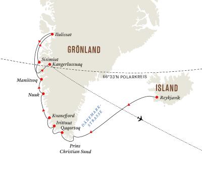 Expedition Diskobucht – Im Herzen Grönlands (Route B)