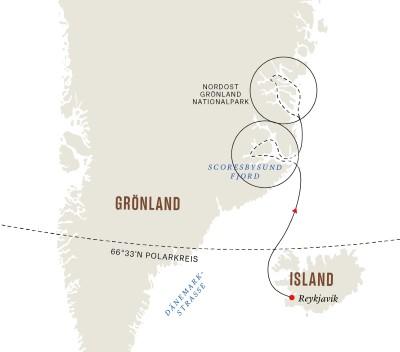 Grönland und Island– Die ultimative Expedition - Fjorde und Nationalparks