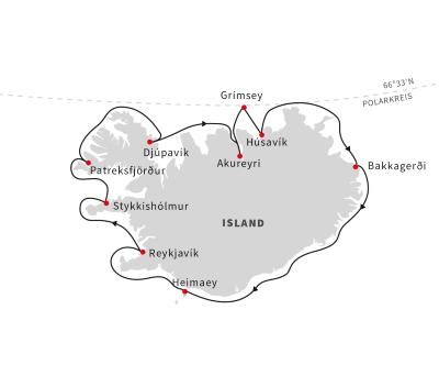 Die ultimative Expedition rund um Island