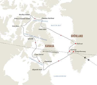 Grönland und die Baffininsel – Die ultimative Arktis-Expedition