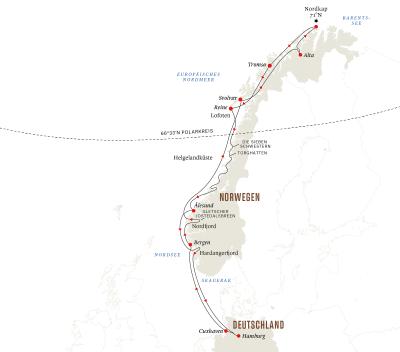 Expedition auf den Spuren der Postschiffroute ab/bis Hamburg – Weihnachten und Silvester