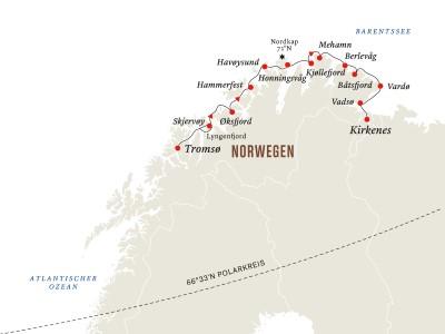 Norwegen: Tromsø - Kirkenes