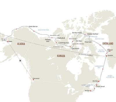 Abenteuer Nordwest-Passage– Im Kielwasser großer Entdecker