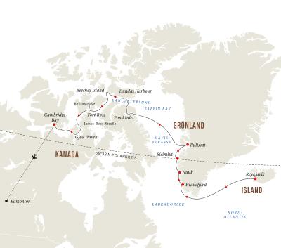 Abenteuer Nordwest-Passage - Im Kielwasser großer Entdecker (Kurs West)