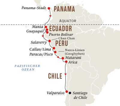 Andenküste – Vom Dschungel in die Wüste (Route A)