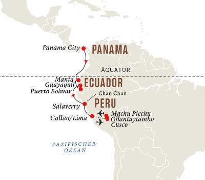 Panama, Ecuador and Peru – Macchu Picchu und die Geheimnisse der Inkas