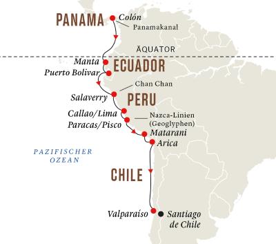 Panama und Peru – Entdeckungsreise Panamakanal und Andenküste