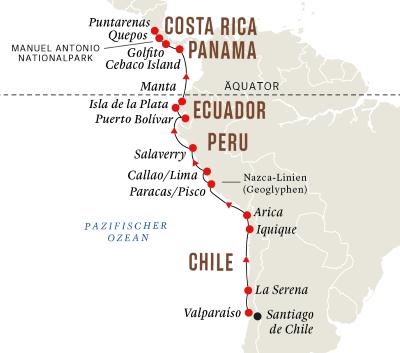 Diverse Kulturen und Nationalparks Lateinamerikas