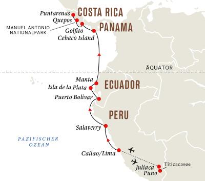 Die Küste Südamerikas – Titicacasee und Nationalparks