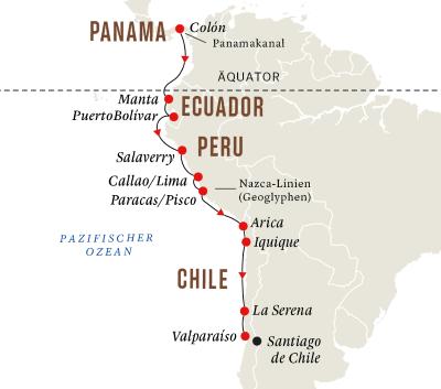 Entdeckungsreise Panamakanal und Andenküste