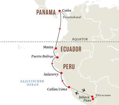 Entdeckungsreise Panamakanal mit Titicacasee