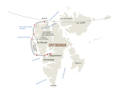 Spitzbergen – Ein arktisches Abenteuer A (Mittwoch - Montag)