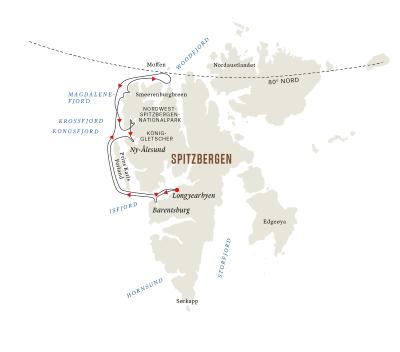 Spitzbergen – Ein arktisches Abenteuer B (Sonntag - Freitag)