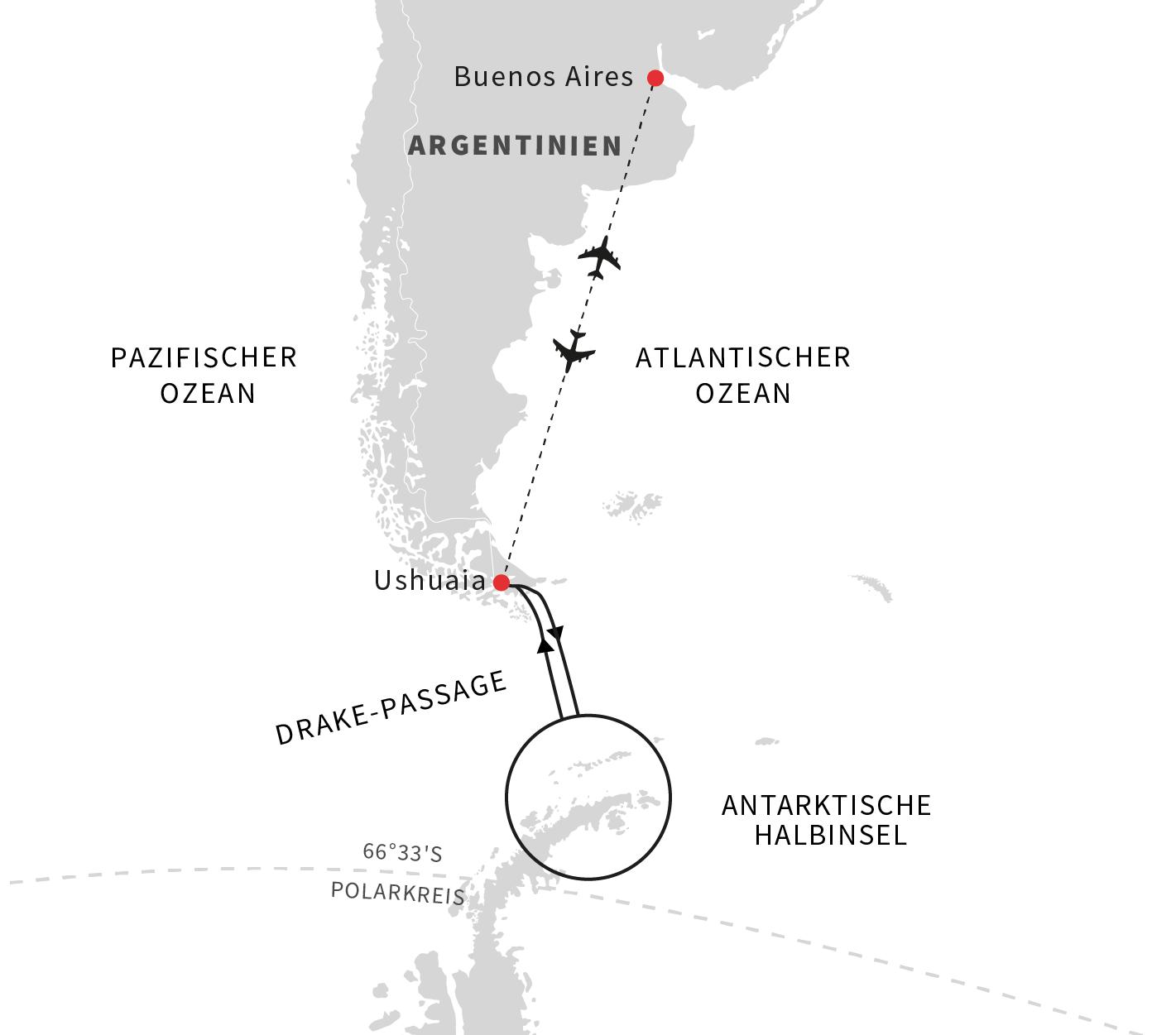 Weihnachts-Expedition in die Antarktis mit MS Midnatsol | Hurtigruten
