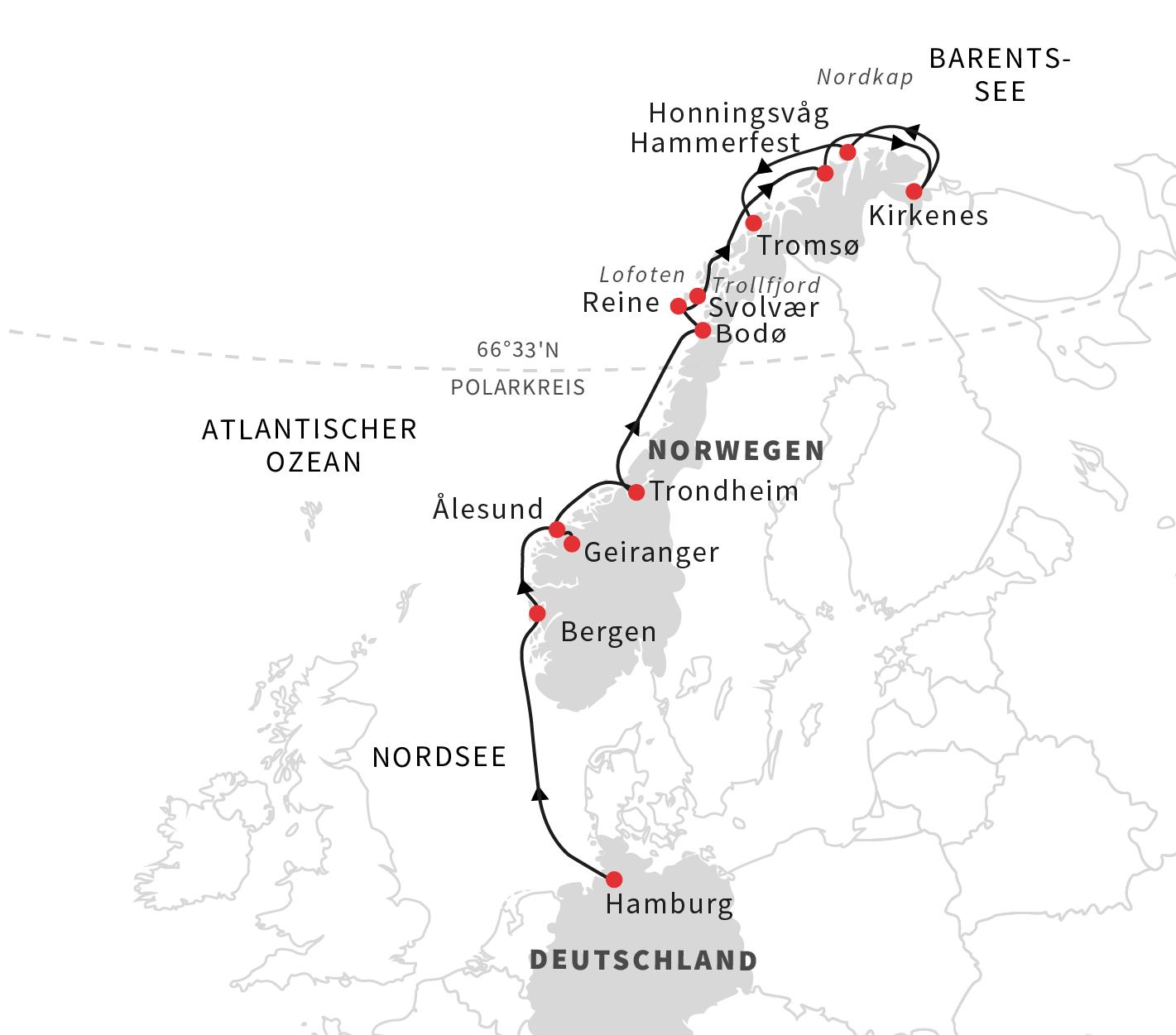 Hurtigruten: https://www