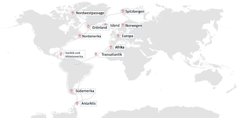 Karte Norwegen Hurtigruten.Landkarte Mit Schiffspositionen Hurtigruten