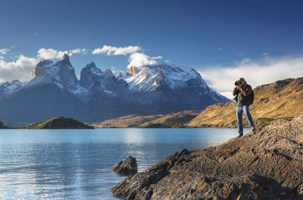 Malerischer Torres del Paine Nationalpark in Chile