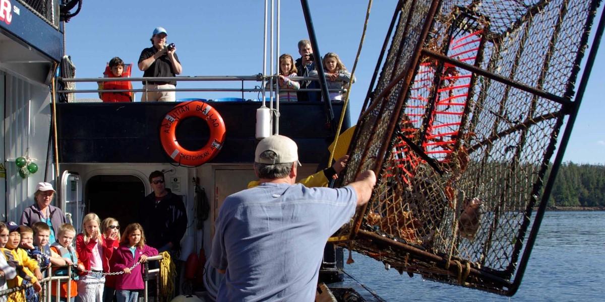 Krabbenfischer Alaska