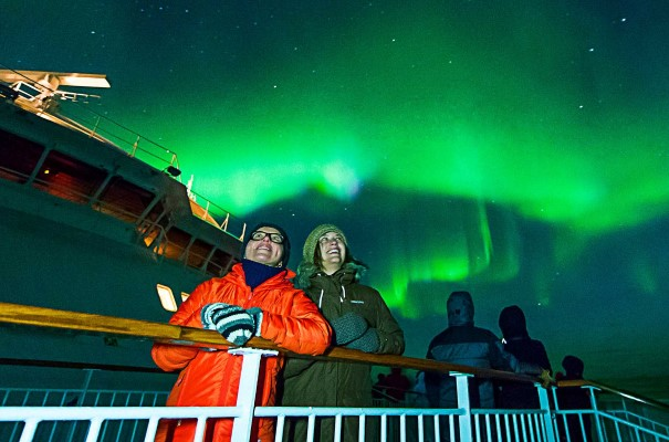 Winter Expedition mit Nordlichtern / Aurora Borealis
