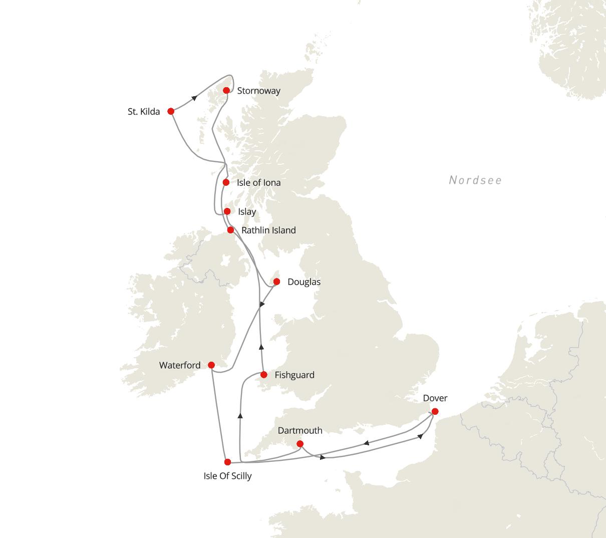 Britische Inseln – Küstenparadiese, malerische Landschaften und unberührte Gewässer